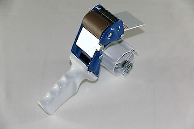 3 st pro Tape Dispenser for 50 mm Casters with Brake, Metal (692013)