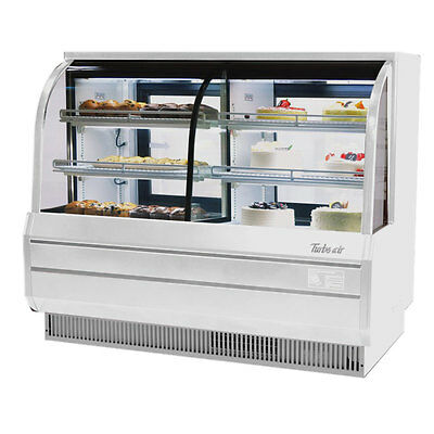 Turbo Air TCGB-72-CO Combination Refrigerated & Dry Bakery Case