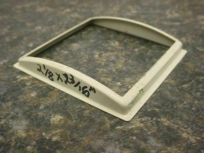 """used HRC #213 Lux 4-1//8/"""" Square Convex Replacement Clock Glass Craft E428Bb"""