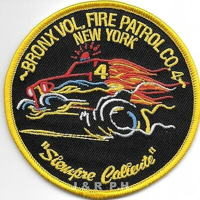"fire patch 4.5/"" round size New York City  Fire Patrol 3  /""Just Passing Thru/"""