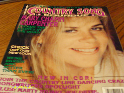 Mary Chapin Carpenter  Covers Country Song Roundup Magazine March 1995