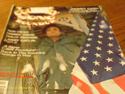Johnny Cash Covers Country Song Roundup Magazine September 1976 Dolly Parton