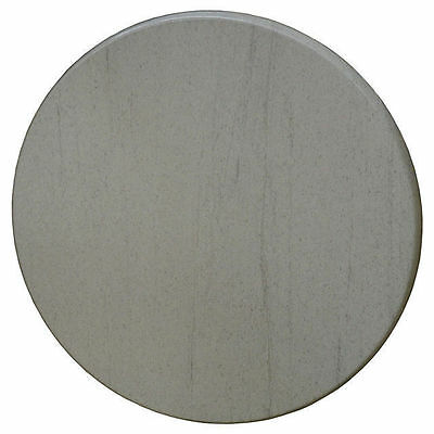 New Restaurant Cafe Outdoor Isotop+ Dining Table Top 70cm Round Compressed Grey