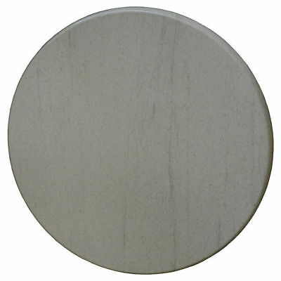 Table Top Restaurant Cafe Antiscratch Isotop Outdoor 60cm Round Compressed Grey