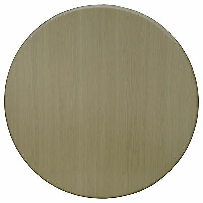 New Table Top Restaurant Cafe Antiscratch UV Isotop Dining 60cm Round Washed Oak