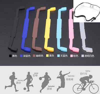 Silicone Glasses Eyeglasses Frames Grip Holder, Better than a Strap Cord String