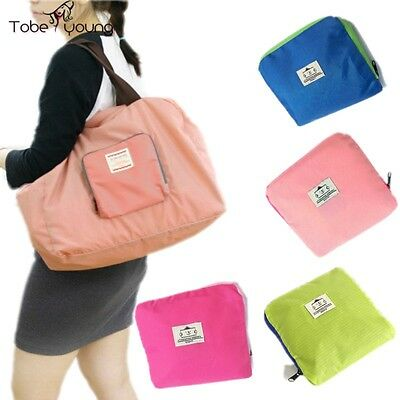 New Eco Shopping Travel Shoulder Large Pouch Tote Handbag Folding Reusable Bags