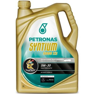 Petronas Syntium XS Fully Synthetic Engine Motor Oil SAE 5W-30 5L Litre ACEA C3