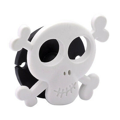 Skull Cable Cord Wire Organizer Winder Wrap Holder For Headphone Earphone Gift