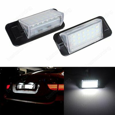 LED License Number Plate Light Lamp BMW 3 Series E36 M3 1992-1998 No Error White