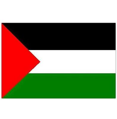 Palestine Palestinian Flag 5Ft X 3Ft