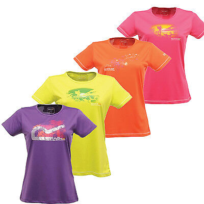 Regatta Zadie Womens Technical Sports Wicking Base Layer Tee T-Shirt