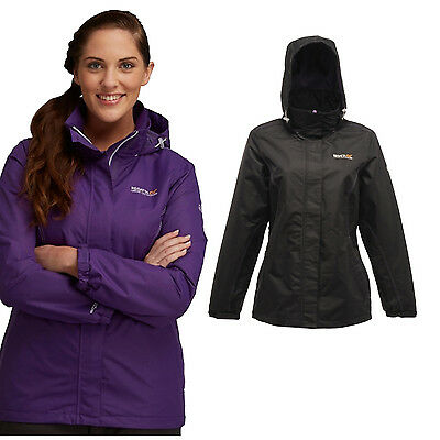 Regatta Laurel Womens Lightweight Waterproof Breathable Windproof Lined Jacket