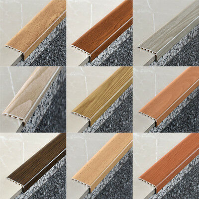 Woodlike stair nosing profile 1m & 2m 14 COLOURS ! strip stair angle profiles