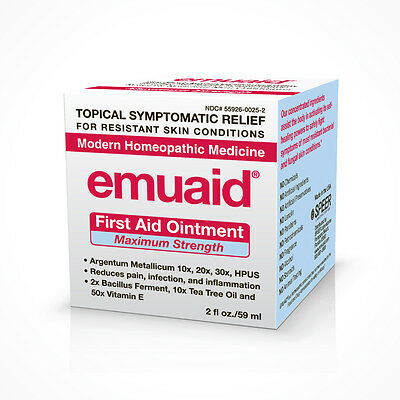Emuaid MAX - First Aid Ointment- For Severe Lichen Sclerosus - 2oz (60 ml)