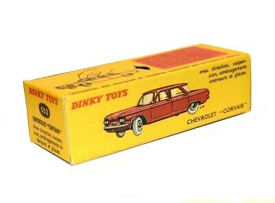 Dinky Toys boîte repro 552 chevrolet corvair