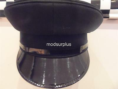 MOD SURPLUS Police Mens Officer Peaked Cap Hat PC Chauffeur Limo Bobby Cop
