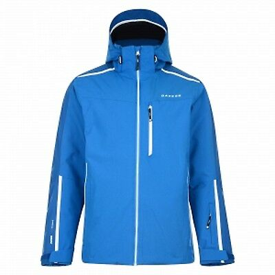 Dare2b Resonant Mens Waterproof Breathable Ski Jacket Blue XXL
