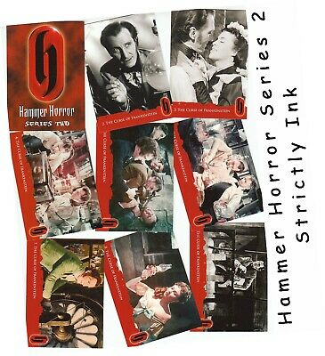Hammer Horror Series 2 (Two) - 54 Card Basic/Base Set - Strictly Ink 2010