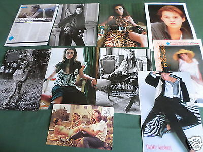 Charlotte Gainsbourg - Film Star - Clippings /cuttings Pack