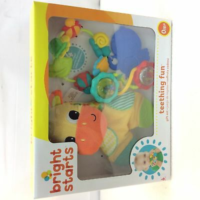 Bright Starts Teething Fun Gift Set, baby teether set