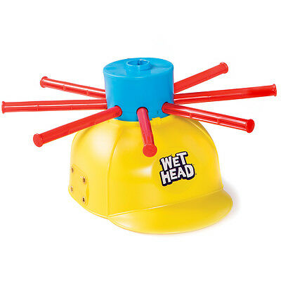 NEW Family Fun Wet Head Water Roulette Beach Pool Picnic Reunion Helmet Game