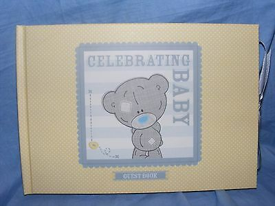 Me To You Bear Christening Guest Signing Book Gift Present - NEW G92Q0139