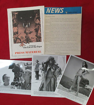 Sinbad And The Eye Of The Tiger 1977 Studio Presskit Ray Harryhausen Classic