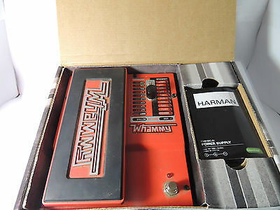 DIGITECH WHAMMY V 5 PITCH SHIFTER OCTAVE EFFECTS PEDAL w/BOX & POWER SUPPLY