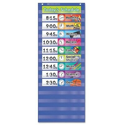 Scholastic Daily Schedule Pocket Chart - 511498