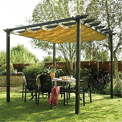 Outdoor Sun Shading Canopy Outdoor Living Garden Structures 114*118inch 270028