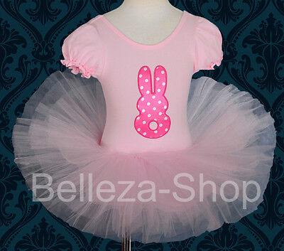Rabbit Ballet Tutu Dancewear Performance Costume Fancy Dress Girl Sz 2T-8 BA046