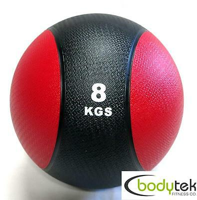8Kg Rubber Bounce Medicine Ball MMA Crossfit Bootcamp Fitness Gym Weights