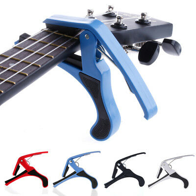 Guitar Capo Trigger Change Quick Clamp Key for Folk Acoustic Electric Guitar New