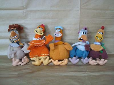Chicken Run 1999 Dreamworks - Top-Notch  Babs Ginger Rocky Rhodes Mac  & Fowler