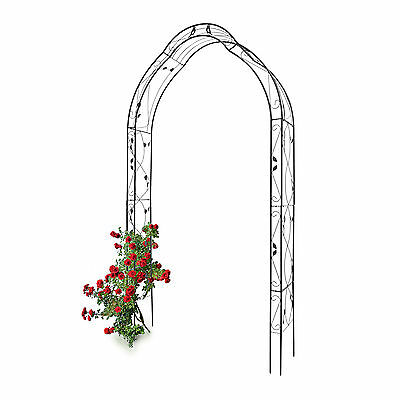 Rose Arch Arbour with Birds Trellis Archway Rosespiral Iron