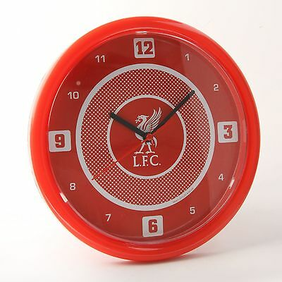 Liverpool Fc Bullseye Wall Clock Red