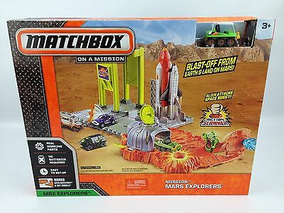Matchbox Mission Mars Explorers Action Slammer Playset - Works With Hot Wheels!