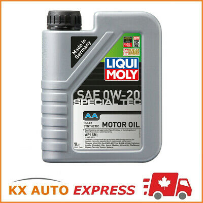 Liqui Moly Special Tec AA SAE 0W-20 Fully Synthetic Premium-Class Engine Oil 1L