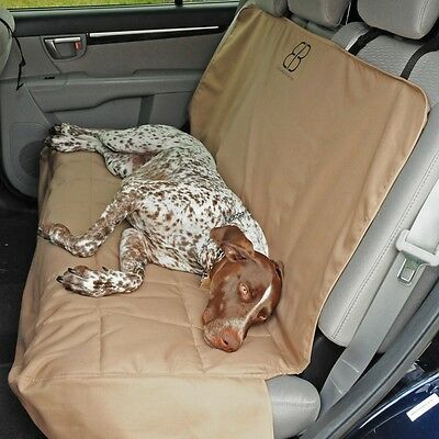 Petego EB  Rear Seat Cover Protector XLG Tan