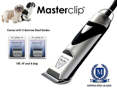 Masterclip Shih Tzu / Shih Poo / Shihchon Dog Clippers Grooming Set with Blades