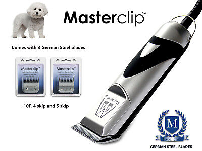 Bichon Frise Bichon Poo Dog Clippers Trimmer Set Masterclip Professional