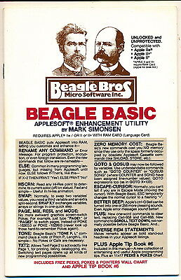 Beagle Bros Applesoft Enhancement Utility Manual - 1983 - 40 Pages