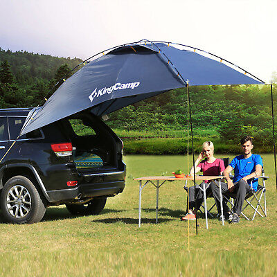 KingCamp Portable Car Sun Shelter  Durable 4-6 Person Canopy Tent Self-Driving