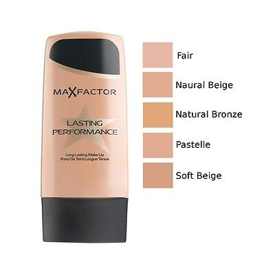 Max Factor Lasting Performance Makeup Foundation 35ml - Choose Your Shade