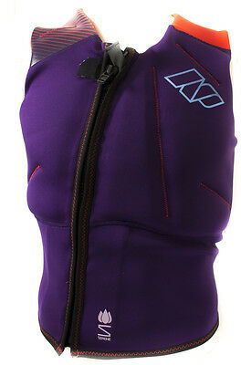 143707-0 NP Surf Impact Front Zip Vest - Donna - 2016 - Shipping Europe