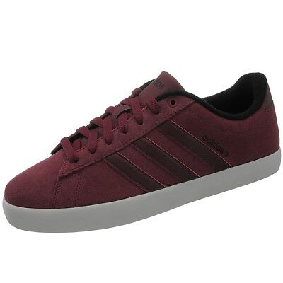 ADIDAS DERBY ST men s sneakers dark red black casual shoes trainers ... c86ea3862