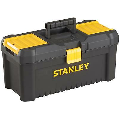 "Stanley Storage Tools Locable 12.5"" Tool Box Side Tray Organiser Top With Handle"