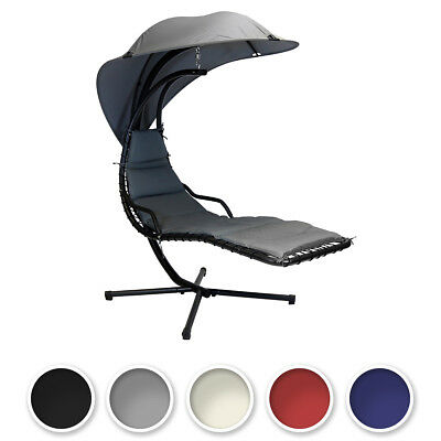 Charles Bentley Garden Helicopter Patio Swing Chair Seat Lounge - In 5 Colours