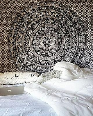 Elephant Throw TAPESTRY INDIAN WALL HANGING MANDALA Hippie Wall Urban Bohemian